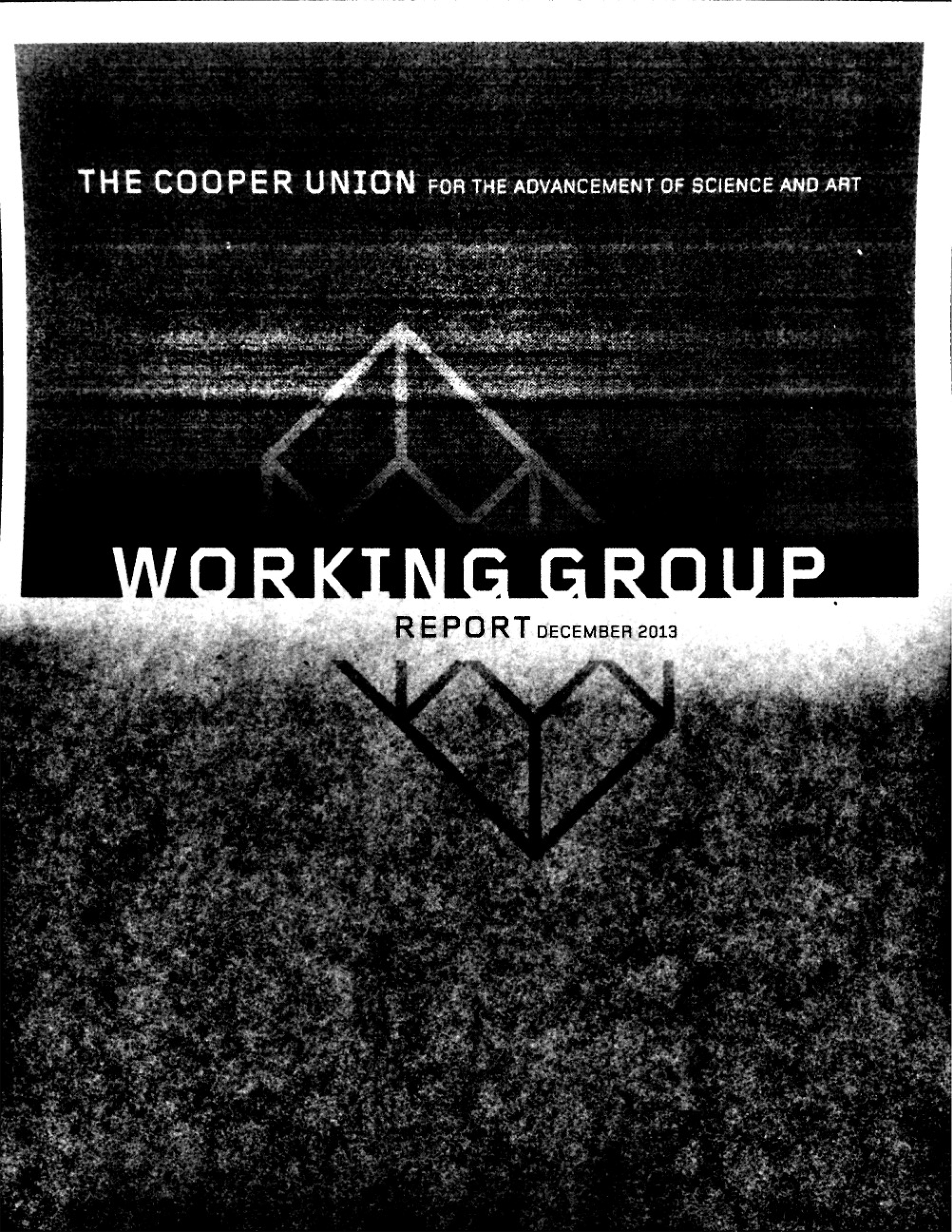 Working Group Report